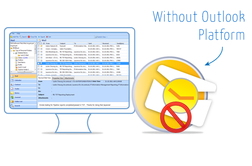 Read PST without Outlook