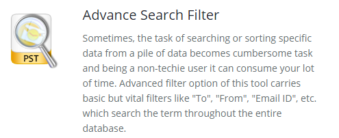 Advance Search Filter