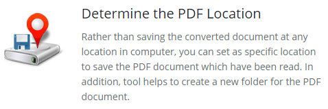 Determine the PDF Location