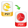 Save Viewed PST as PDF